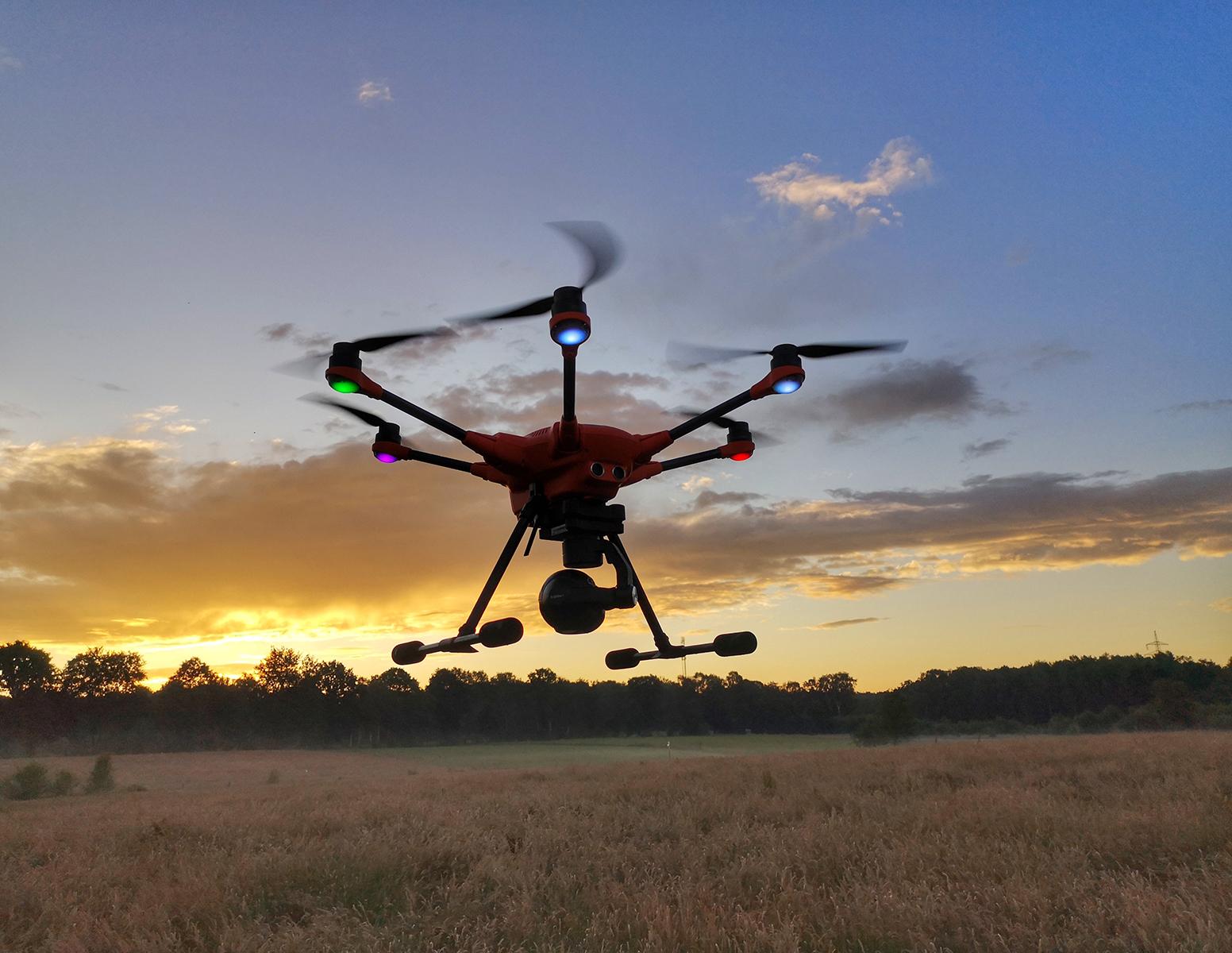 Rehkitzsuche per Drohne